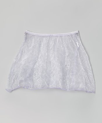 Lilac Crush Organza Skirt - Girls