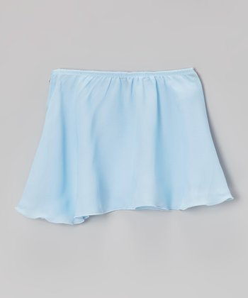 Blue Georgette Skirt - Toddler & Girls