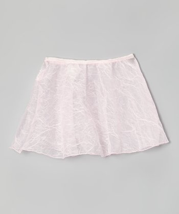Pink Crush Organza Skirt - Girls