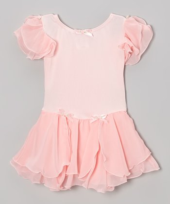 Light Pink Skirted Leotard