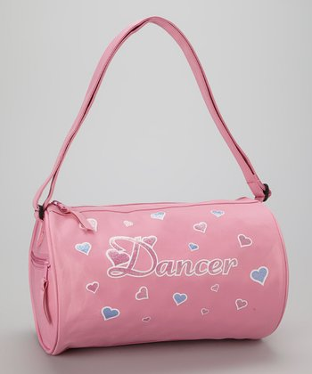 Pink Hearts 'Dancer' Duffel Bag