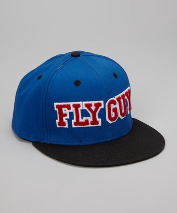 Blue 'Fly Guy' Red Bird Baseball Cap