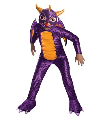 Purple Spyro Metallic Dress-Up Outfit - Kids