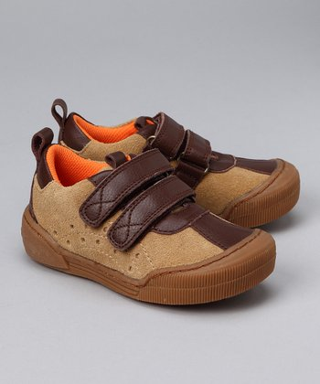 Tan & Brown Sneaker