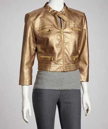 Gold Metallic Jacket