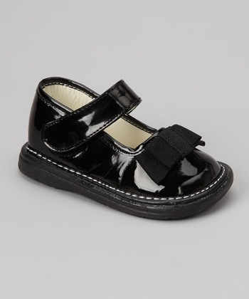 Black Patent Bow Mary Jane