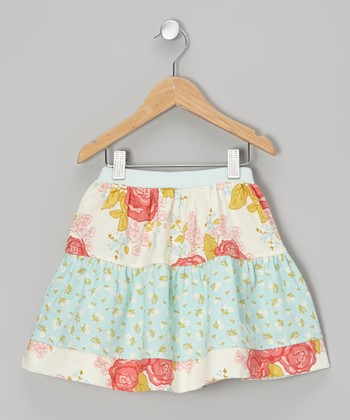 Fresh Picked Flower Peasant Skirt - Infant, Toddler & Girls
