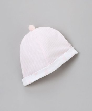 Pink Stripe Beanie - Infant