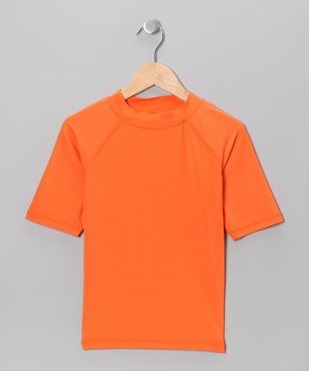 Orange Rashguard - Toddler & Boys
