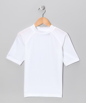 White Rashguard - Boys
