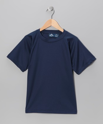 Navy Rashguard - Toddler & Boys