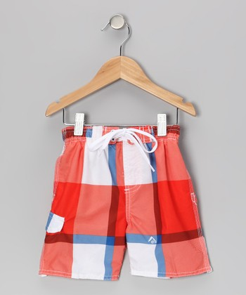 Orange X-Pro Swim Trunks - Toddler & Boys