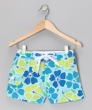 Aqua Florence Boardshorts - Girls
