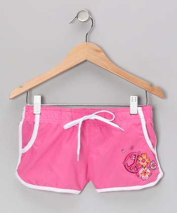 Pink Savannah Boardshorts