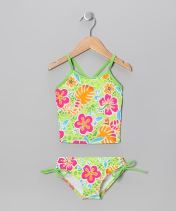 Green Island Tankini - Infant, Toddler & Girls