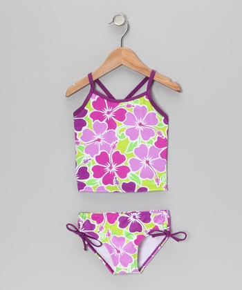 Purple Florence Tankini - Infant