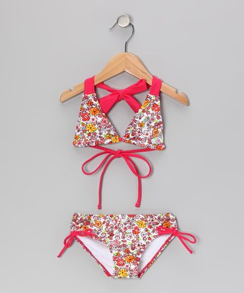 Pink Savannah Bikini - Toddler