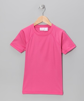 Pink Rashguard - Toddler & Girls