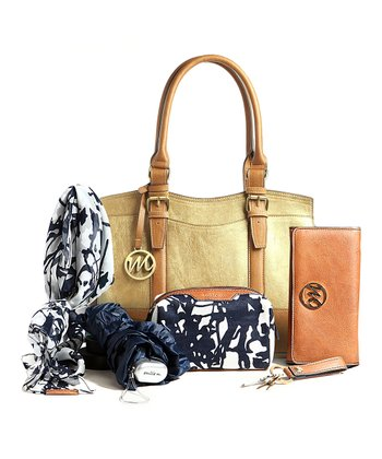 Bronze Jane Satchel & Essentials Box Set