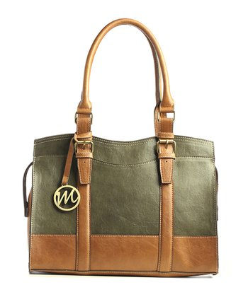 Moss Green Jane Satchel
