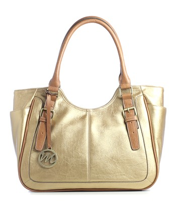 Bronze Jane Double Shoulder Bag