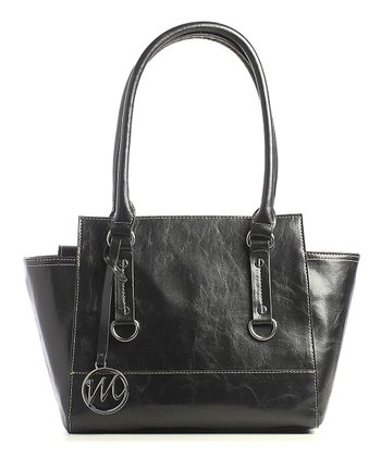 Black Kimberley Small Satchel