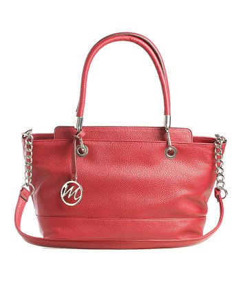 Red Kristi Satchel
