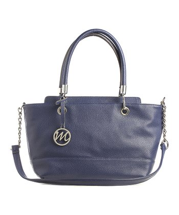 Navy Kristi Satchel