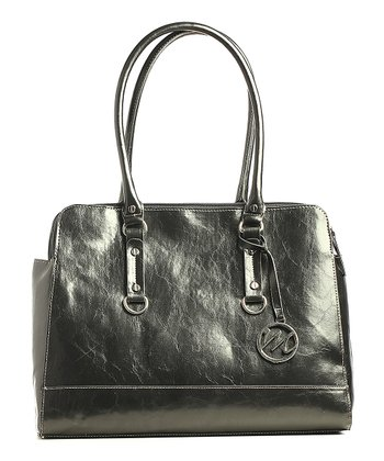 Black Kimberley Compartment Double Shoulder Bag