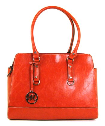 Paprika Kimberley Compartment Double Shoulder Bag