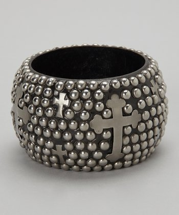 Black Cross Shannon Clare Bangle
