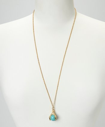 Turquoise Talon Necklace
