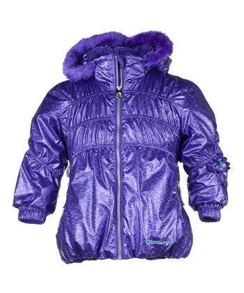 Grape Sheer Bliss Jacket - Infant, Toddler & Girls