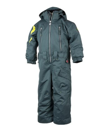 Slate Top Gun Snowsuit - Boys