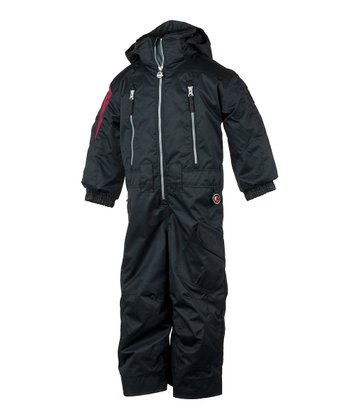 Black Top Gun Snowsuit - Boys