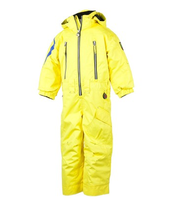 Acid Yellow Top Gun Snowsuit - Boys