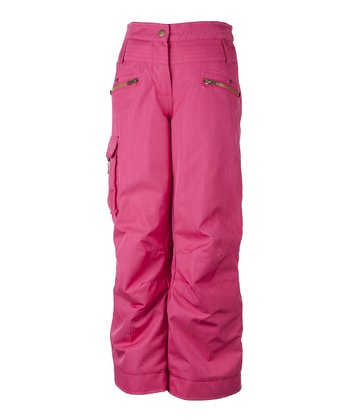 Hibiscus Twilight Snow Pants - Girls