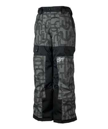 Basalt Scrambled Prophet Snow Pants - Boys