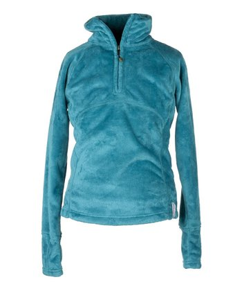 Jewel Furry Fleece Top - Girls