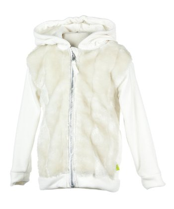 Marshmallow Zoe Fleece Jacket - Infant & Toddler