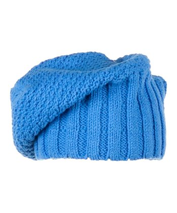 Blue Hawaii Knit Cake Beanie