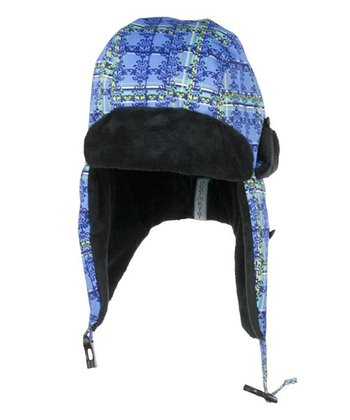 Provence Plaid Aviator Hat