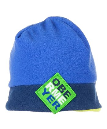 Victory Blue Switch Fleece Beanie