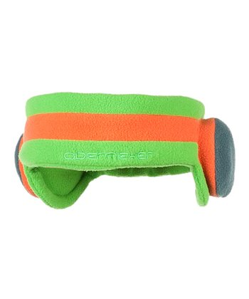 Pro Green DJ Fleece Headband