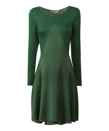 Moss Green Michelle Maternity Dress