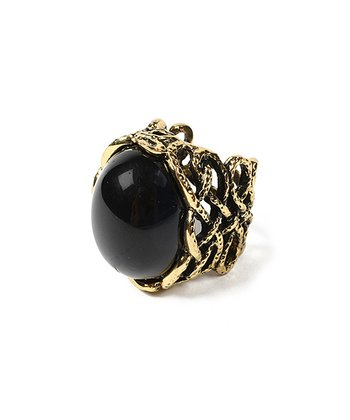 Gold & Black Bridgehampton Ring