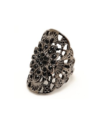 Gunmetal & Black Rockstar Ring
