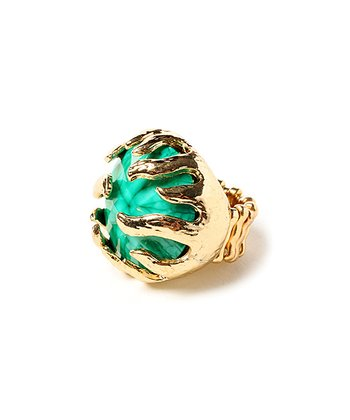 Turquoise Wisteria Stretch Ring