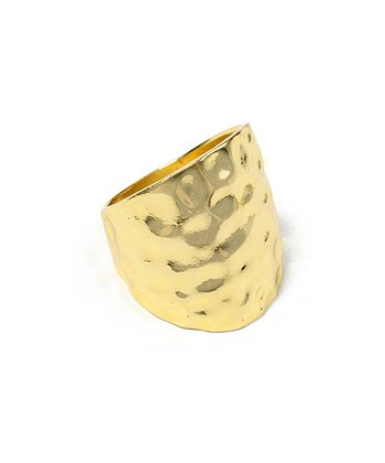 Gold Polka Ring