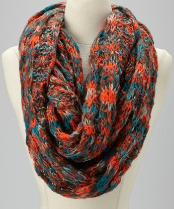 Orange & Blue Scarf